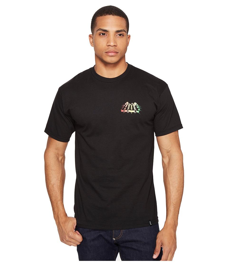 HUF - Pyramid Tee (Black) Men's T Shirt