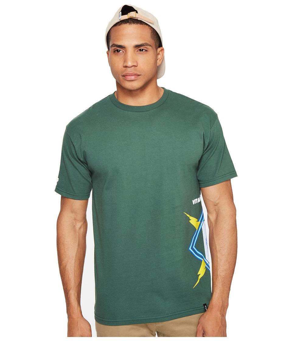 HUF - Vital Crucial Tee (Forest) Men's T Shirt