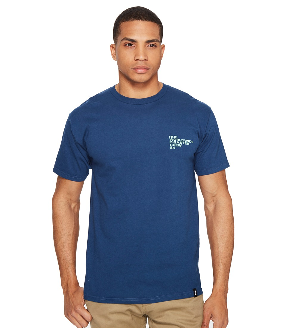 HUF - Riot Tee (Harbor Blue) Men's T Shirt