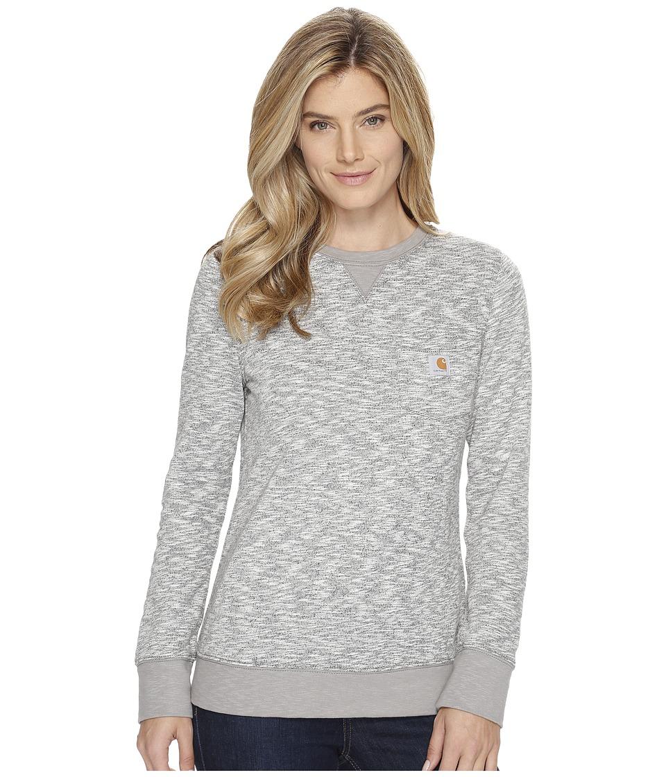 Carhartt - Newberry Pocket Sweatshirt (Black) Women's Sweatshirt