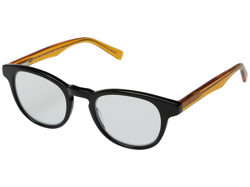 eyebobs - Take a Stand Readers (Black/Orange Crystal) Reading Glasses Sunglasses