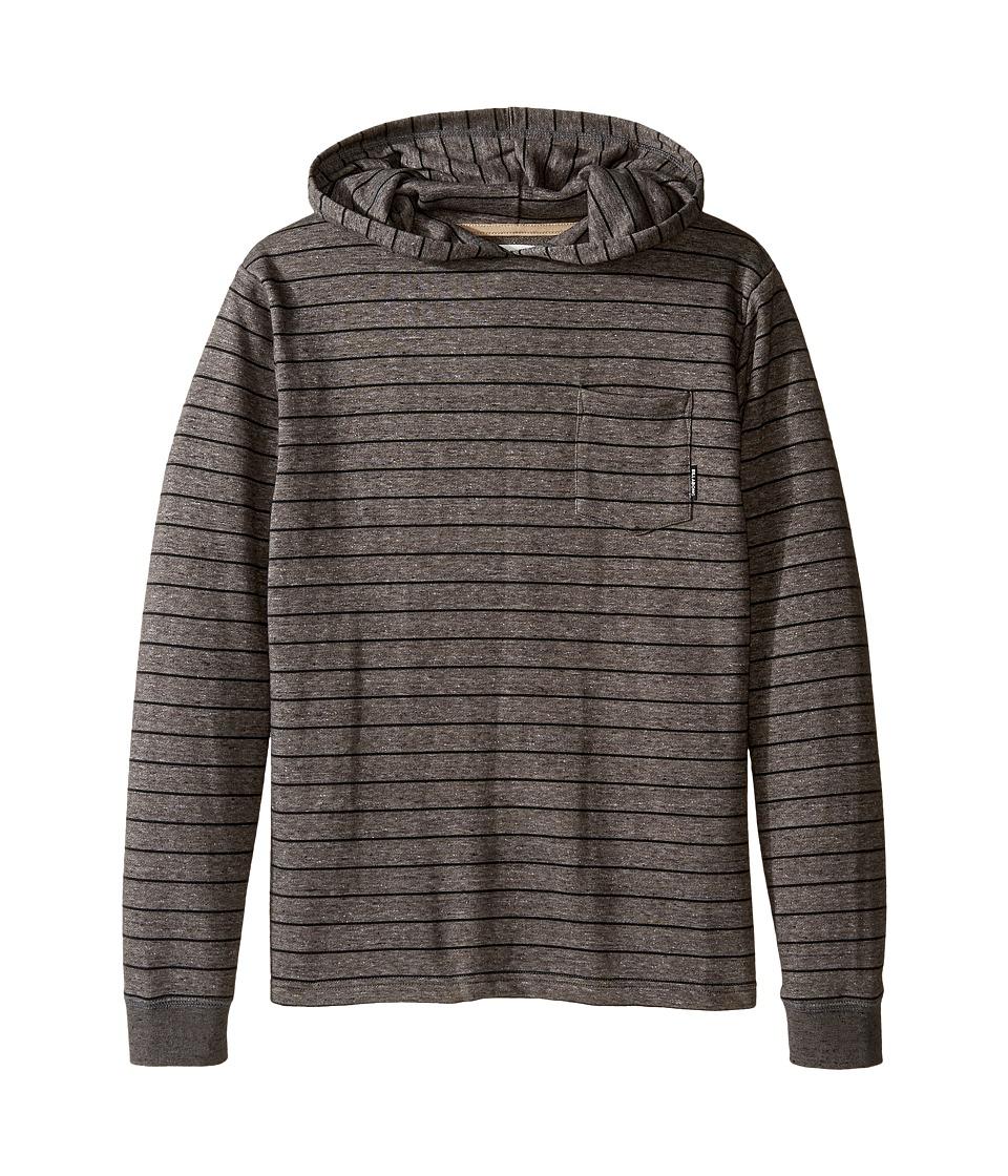 Billabong Kids - Waterline Pullover Hoodie (Big Kids) (Black) Boy's Sweatshirt