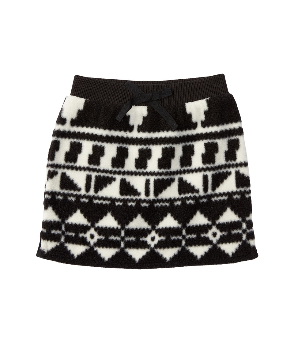 Polo Ralph Lauren Kids - Fleece Skirt (Toddler) (Black/Cream) Girl's Skirt