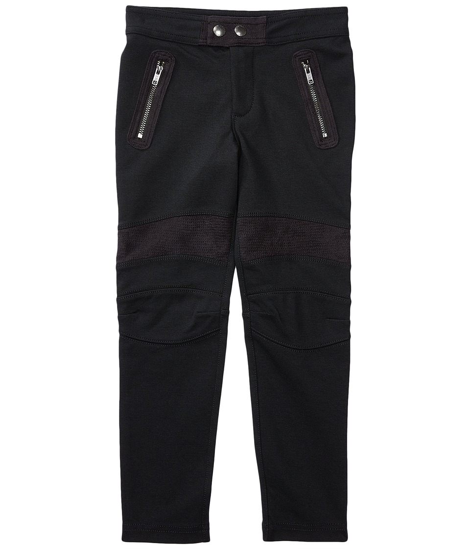 Polo Ralph Lauren Kids - Cotton Modal Knit Leggings (Toddler) (Collection Black) Girl's Casual Pants