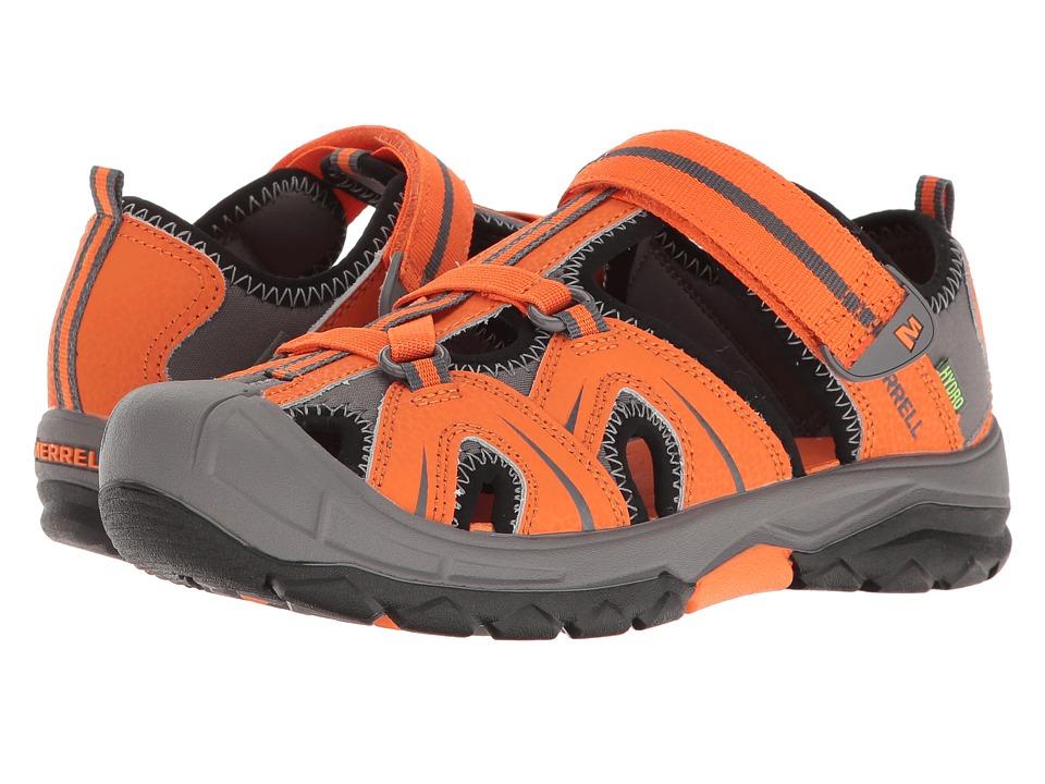 Merrell Kids - Hydro (Big Kid) (Orange/Grey) Boys Shoes