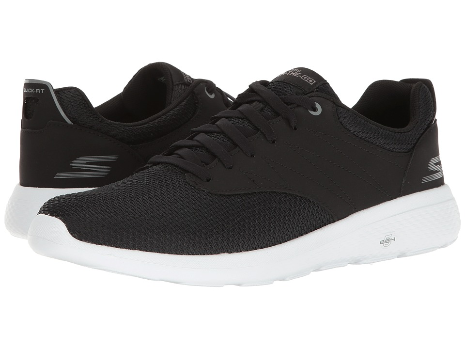 SKECHERS Performance - On-the-Go City 2 (Black/White) Men's Shoes