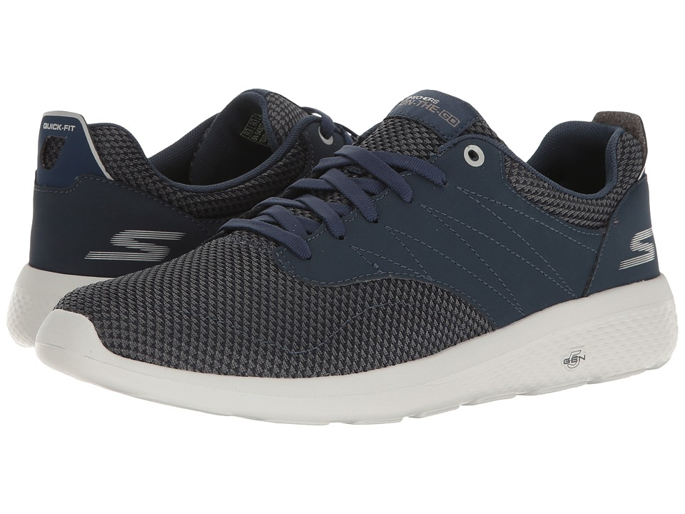 SKECHERS Performance - On-the-Go City 2 (Navy/Gray) Men's Shoes