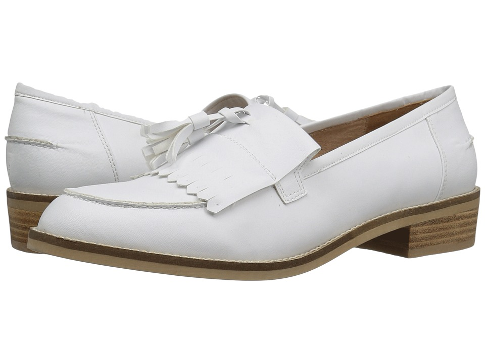 Steve Madden - Meela (White) Women's 1-2 inch heel Shoes