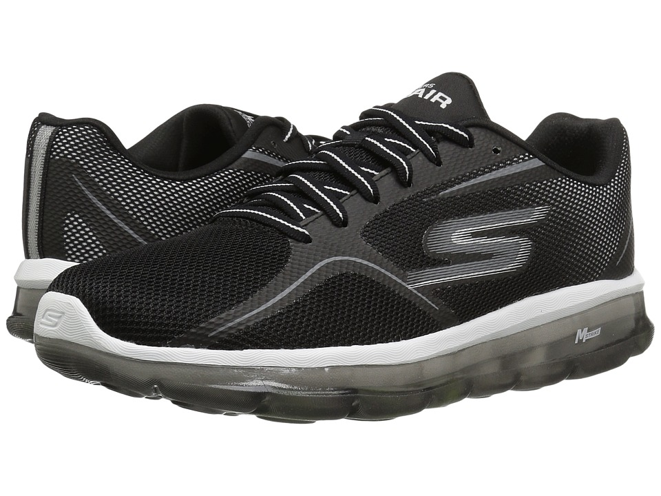 SKECHERS Performance - Go Air 2 (Black/White) Men's Shoes
