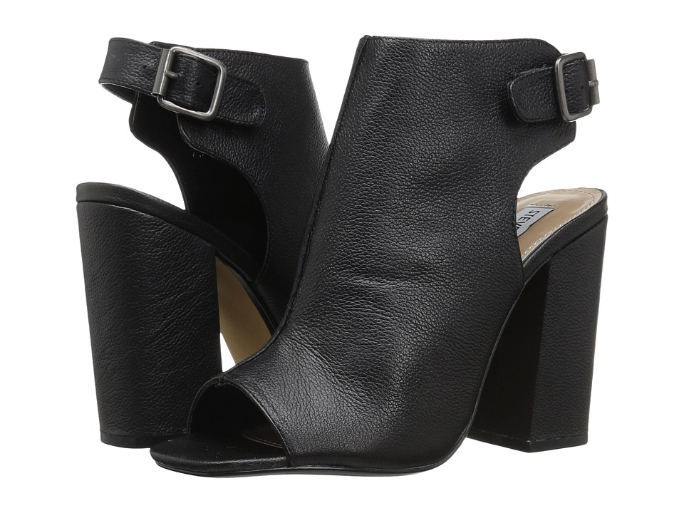 Steve Madden - Slinng (Black Leather) High Heels