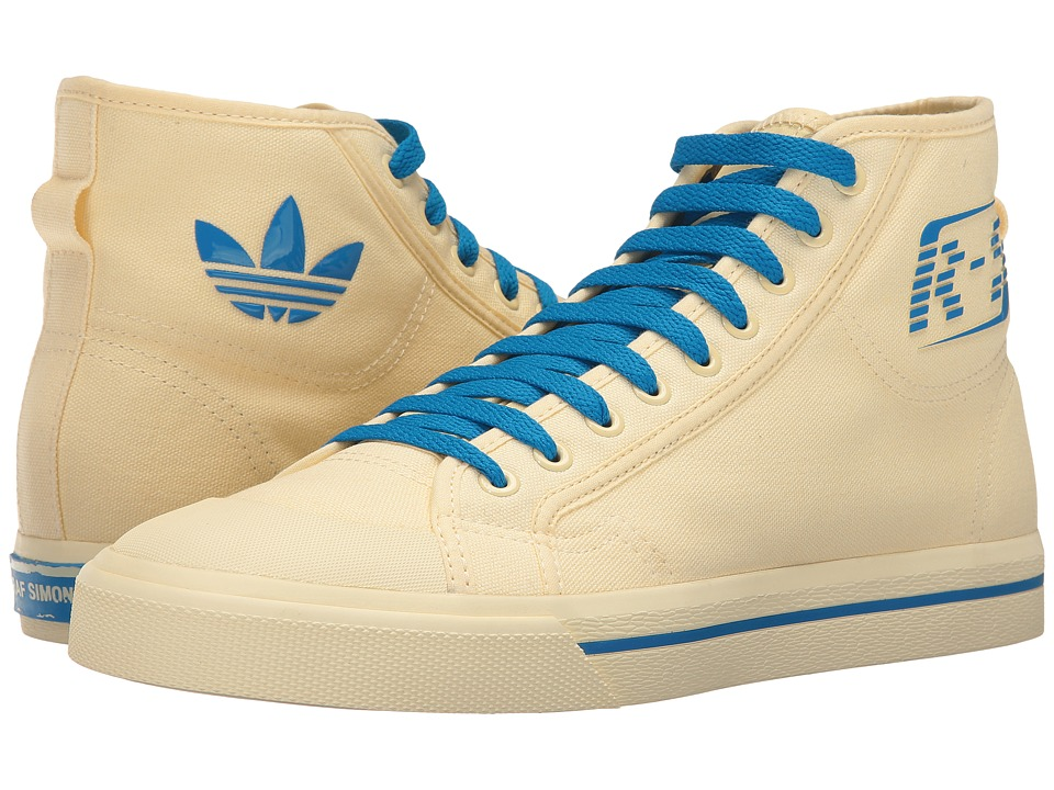 adidas by Raf Simons - RS Matrix Spirit High-Top (Mist Sun/Bright Blue/Mist Sun) Men's Shoes
