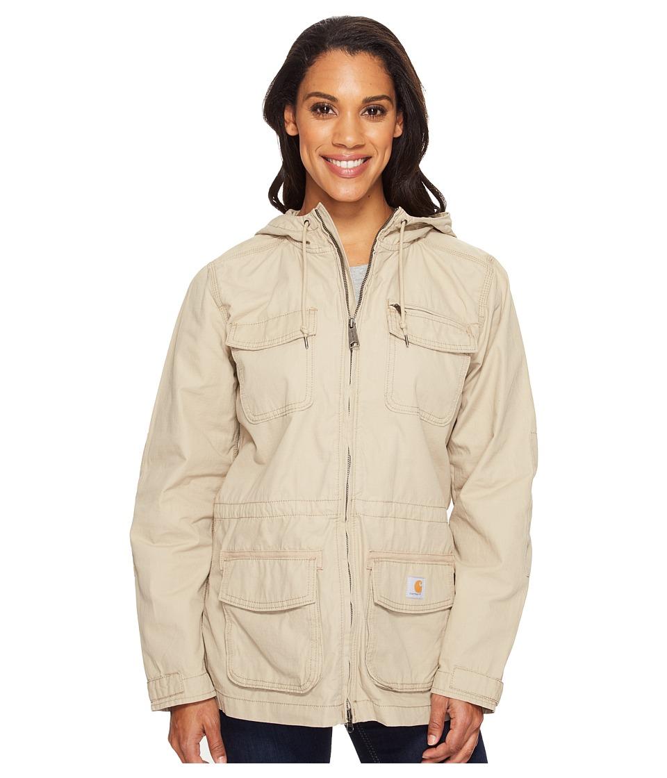Carhartt - El Paso Utility Jacket (Field Khaki) Women's Coat