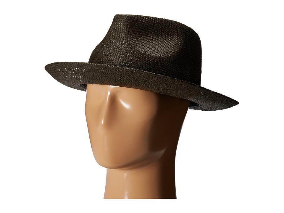 Brixton - Presley Fedora (Washed Black) Fedora Hats