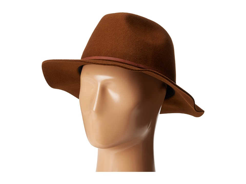 Brixton - Wesley Fedora (Coffee) Traditional Hats