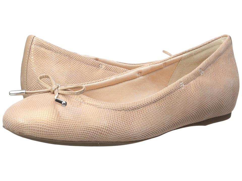 Rockport - Total Motion Hidden Wedge Tied Ballet (Pink Snake) Women's Flat Shoes