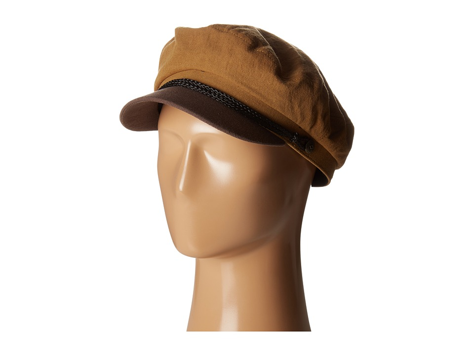 Brixton - Fiddler (Copper/Dark Brown) Traditional Hats