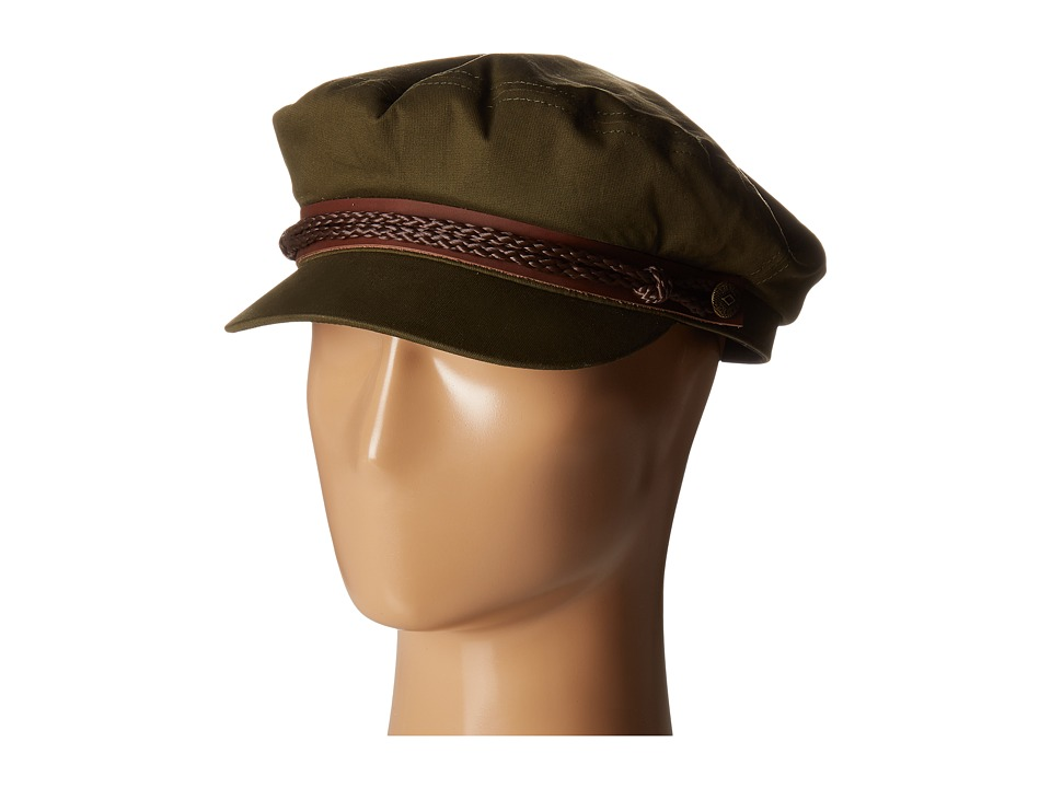 Brixton - Fiddler (Light Olive) Traditional Hats