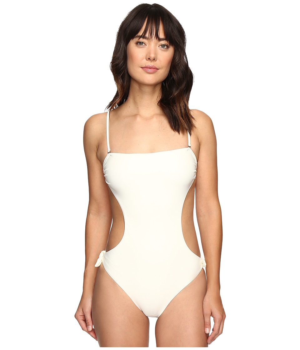 6 Shore Road by Pooja - Seashell One-Piece (Ivory) Women's Swimsuits One Piece