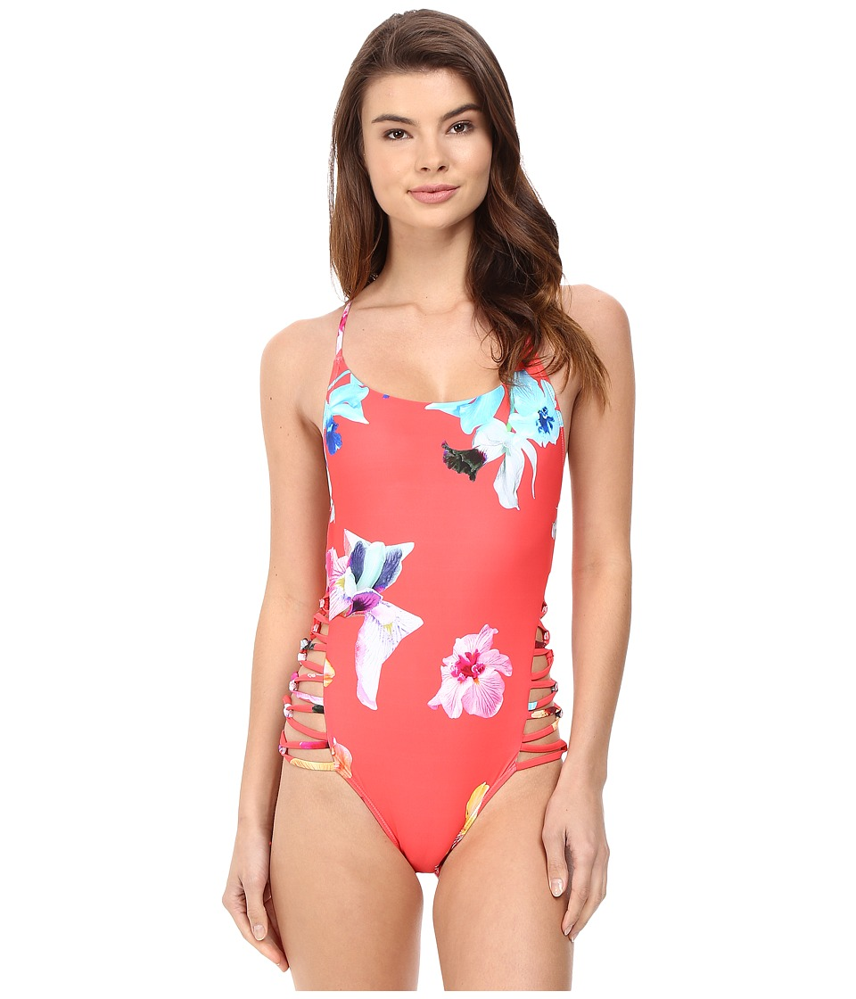 6 Shore Road by Pooja Carnival One-Piece (Red Colombia Floral) Women