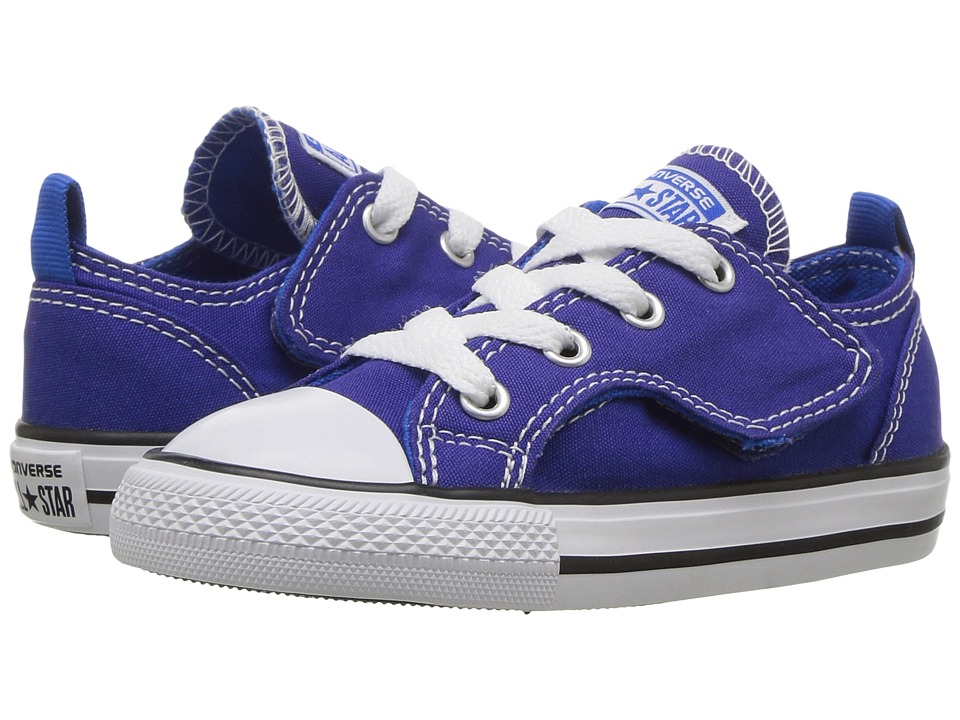 Converse Kids - Chuck Taylor Simple Step - Ox (Infant/Toddler) (True Indigo/Soar/White) Boys Shoes