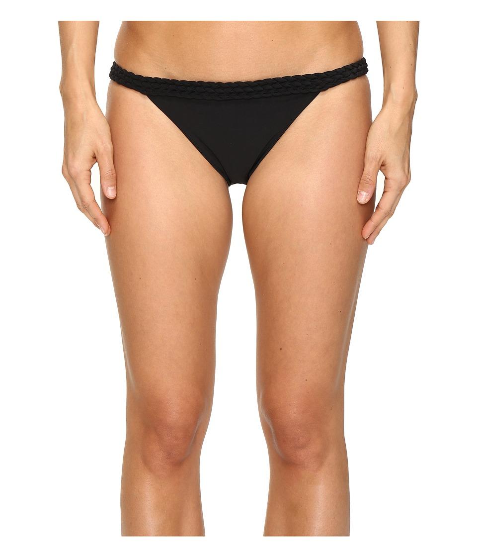 6 Shore Road by Pooja Domingo Moderate Bikini Bottom (Black Rock) Women