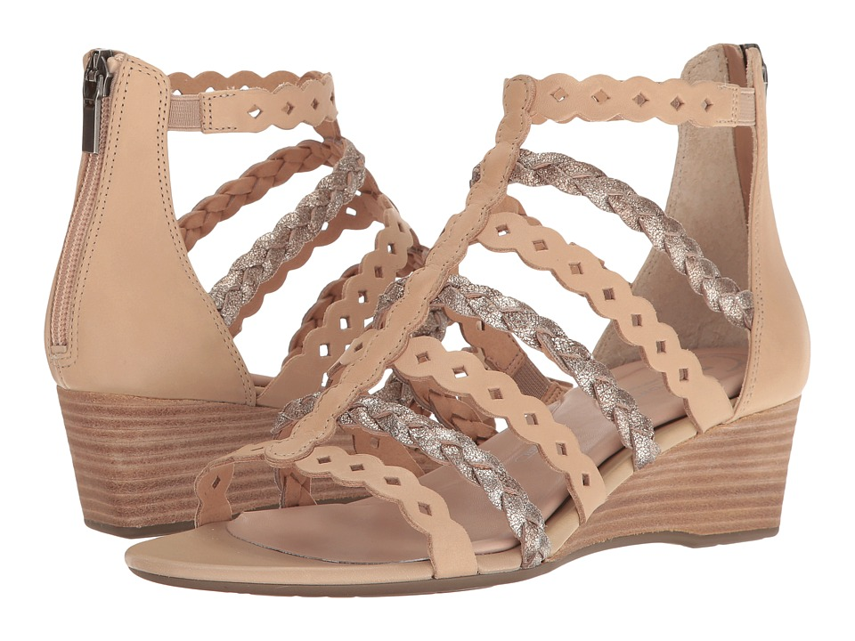 Rockport - Total Motion 55mm Wedge Gladiator Sandal (Warm Taupe) Women's Wedge Shoes