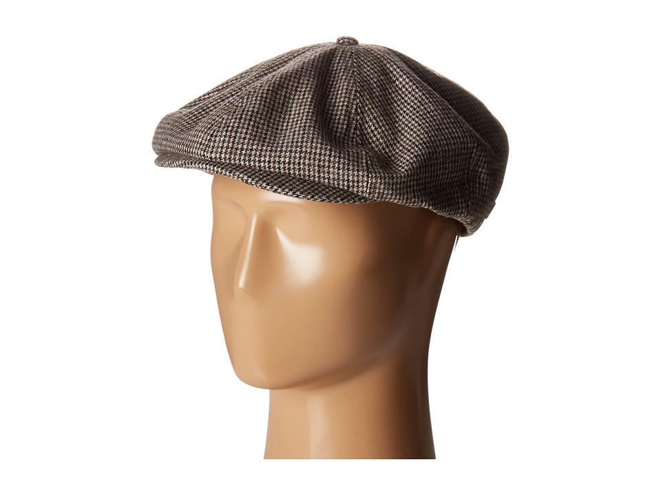 Brixton - Brood Snap Cap (Black/Tan) Caps