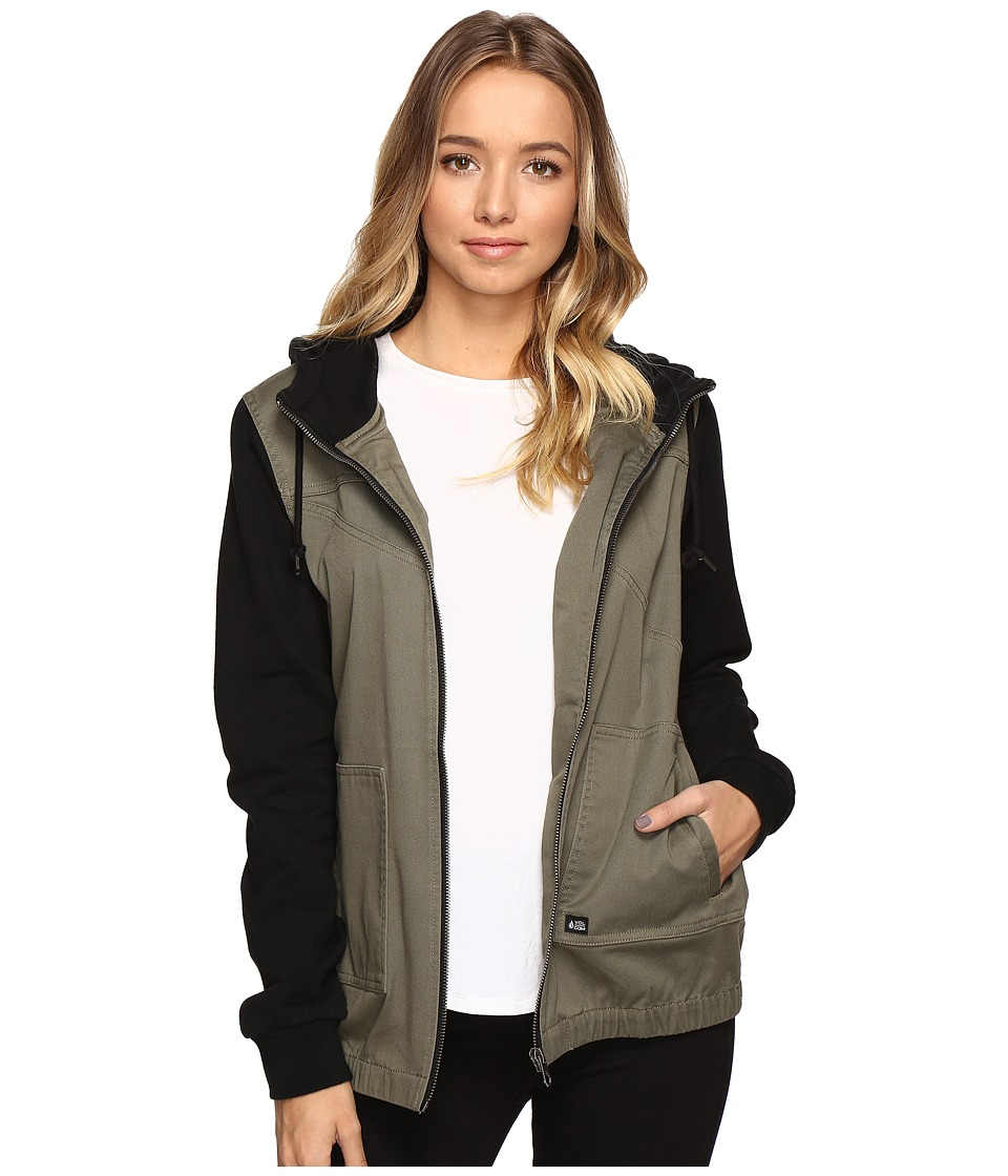 Volcom - Frochickie Jacket (Army Green Combo) Women's Coat