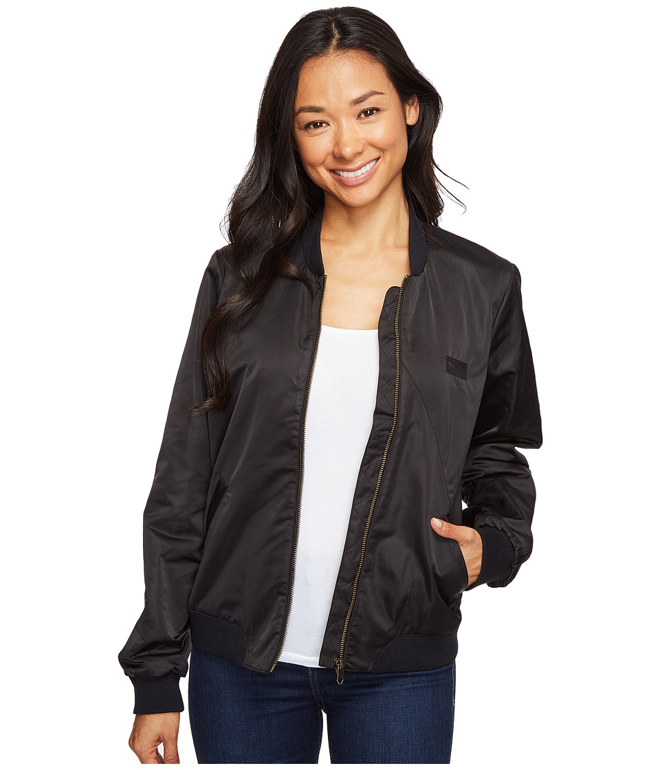 Volcom - In My Lane Jacket (Black) Women's Coat