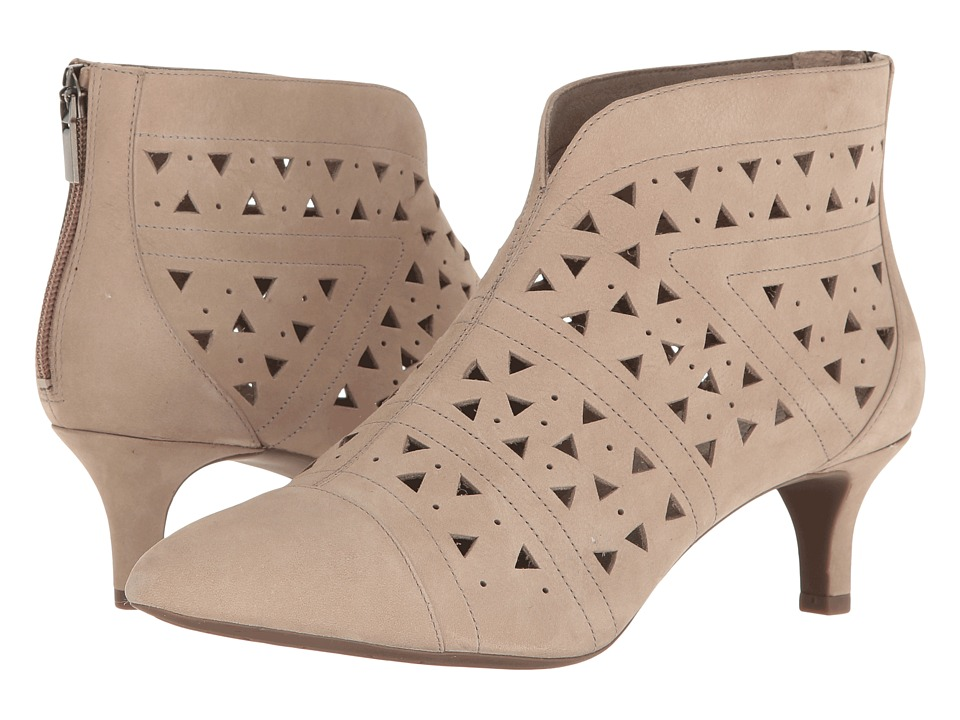 Rockport - Total Motion Kalila Perf Bootie (Vintage Khaki Nubuck) Women's Boots