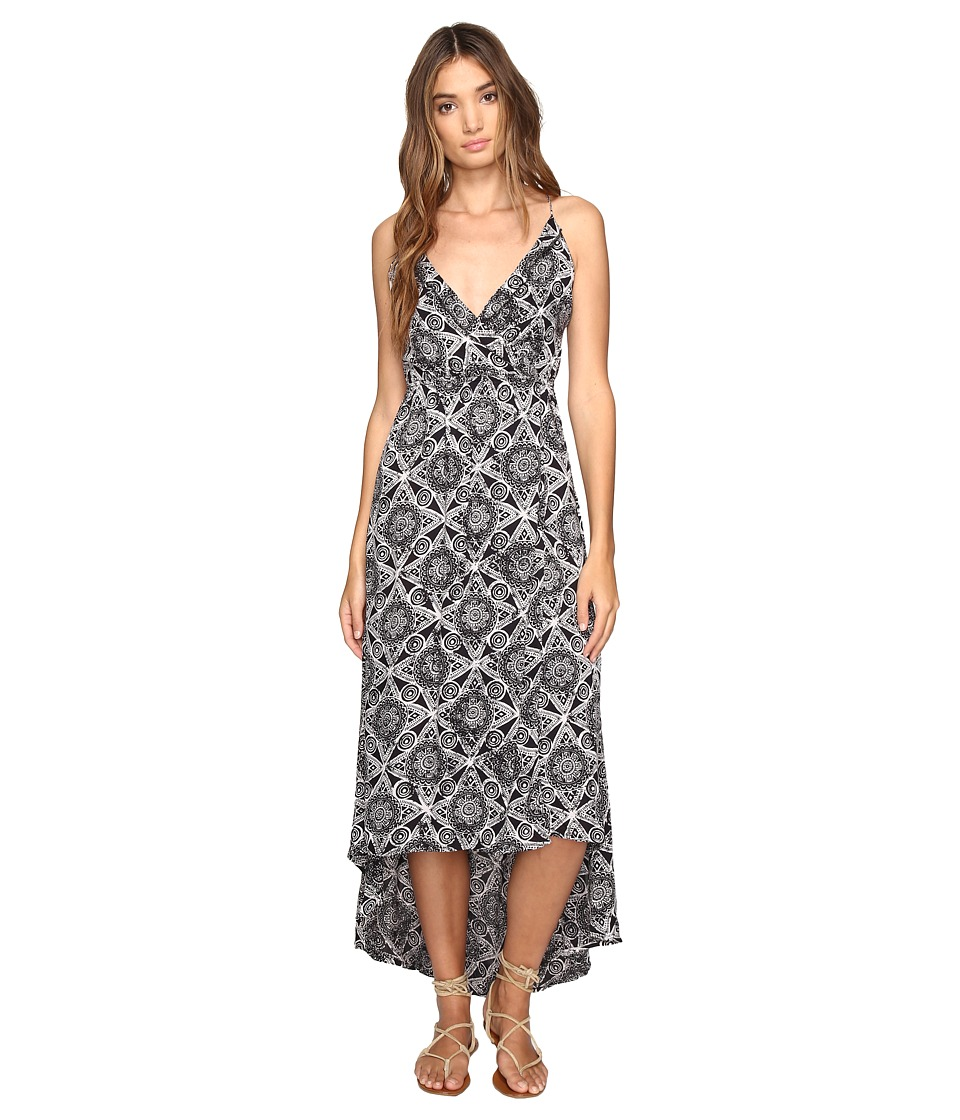 Volcom - Troublemaker Dress (Black Combo) Women's Dress