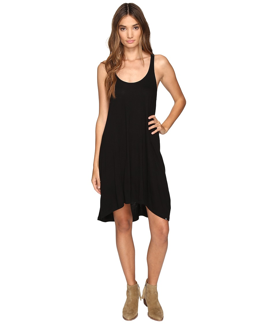 Volcom - Conspiracy Tide Dress (Black) Women's Dress
