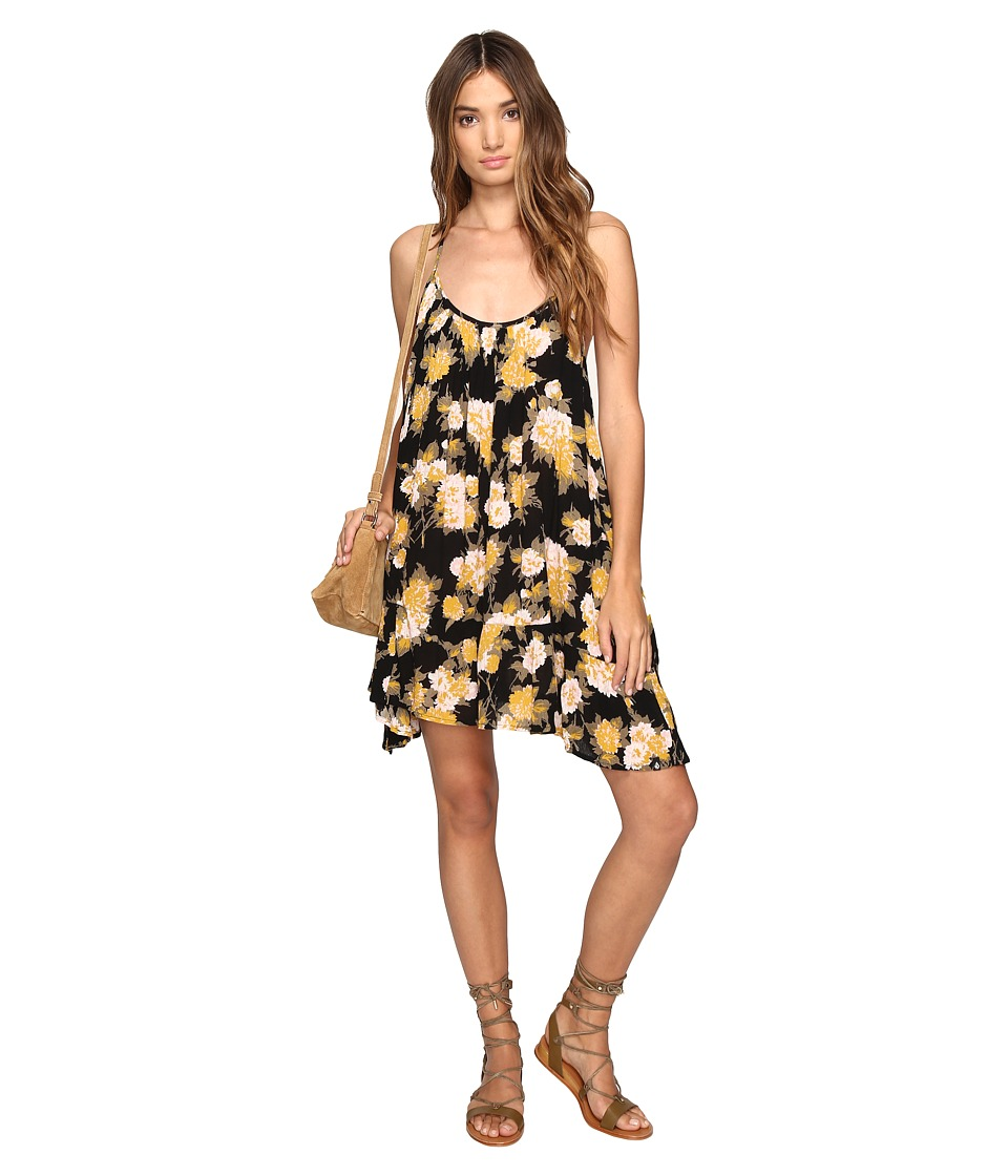 Volcom Stampede Dress (Black Combo) Women