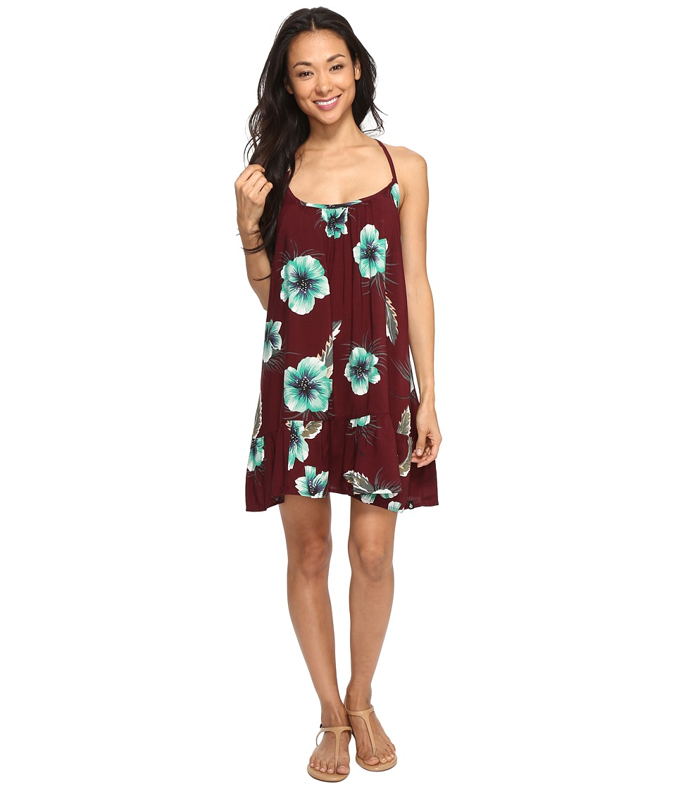 Volcom - Stampede Dress (Merlot) Women's Dress