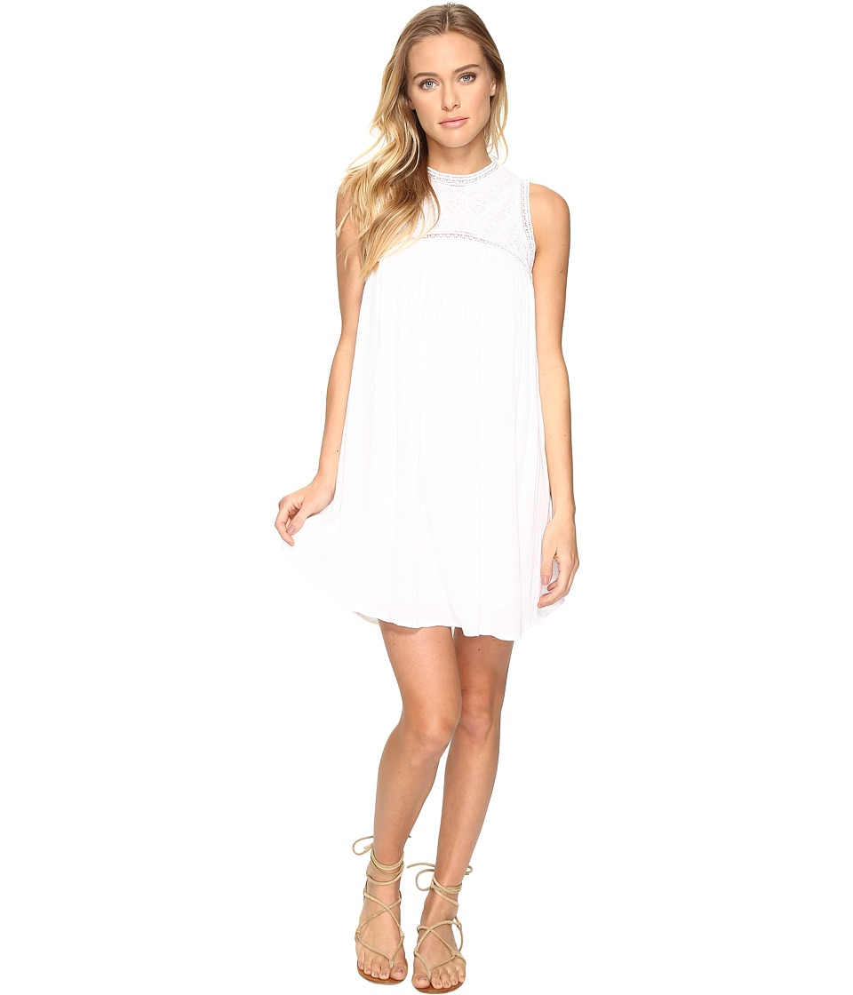 Volcom - Sunset Path Dress (White) Women's Dress
