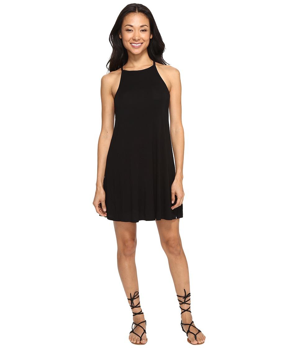 Volcom - Lived in Tank Dress (Black) Women's Dress