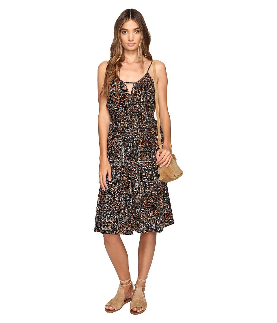 Volcom - Rough Edges Dress (Black) Women's Dress