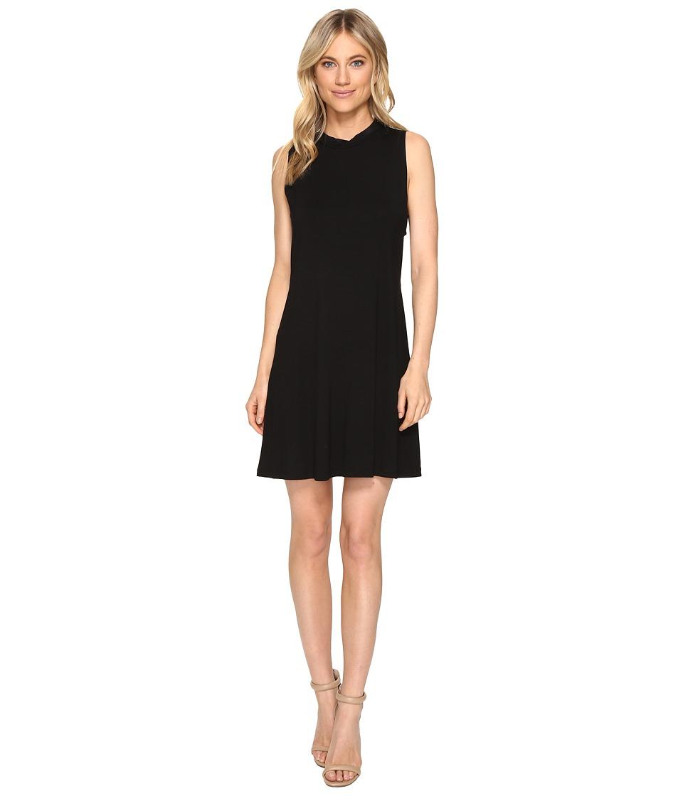 Brigitte Bailey Celestine Sleeveless Dress with Open Side (Black) Women