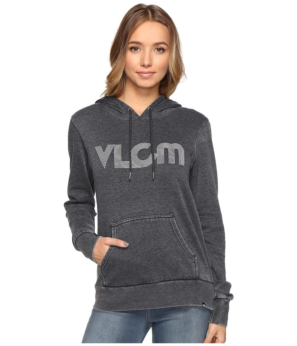Volcom - Art Tropolis Hoodie (Black) Women's Sweatshirt