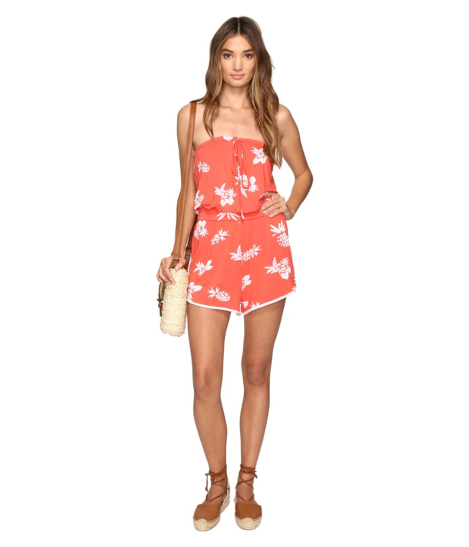 Volcom - Pine For Me Romper (Pistol Punch) Women's Jumpsuit & Rompers One Piece