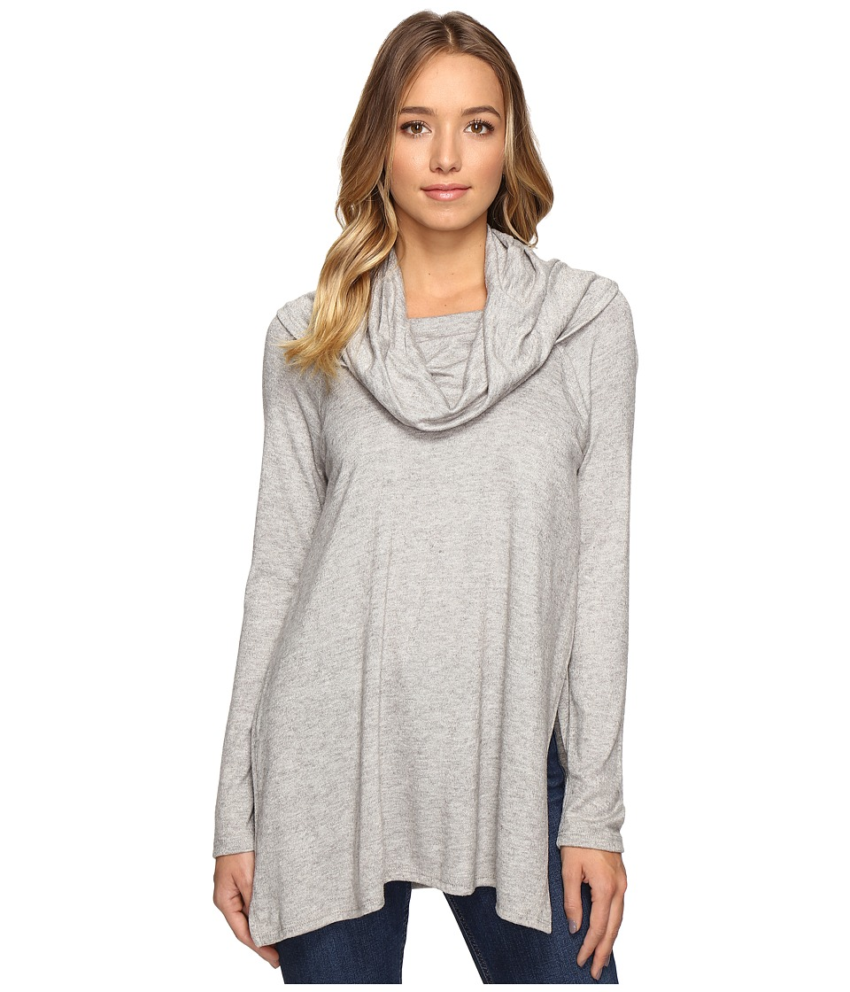 Culture Phit - Jada Cowl Neck Sweater (Grey) Women's Sweater