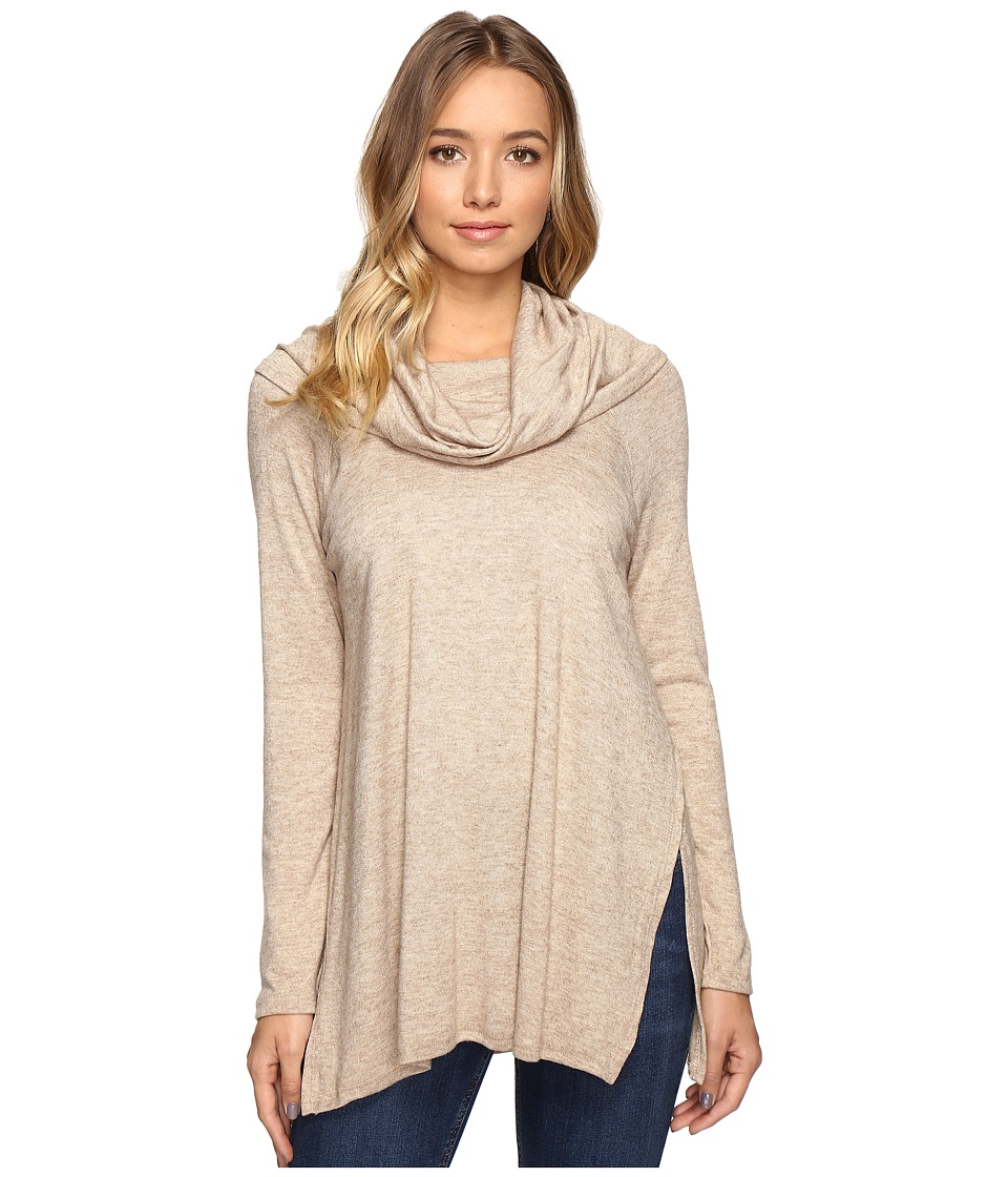 Culture Phit - Jada Cowl Neck Sweater (Beige) Women's Sweater