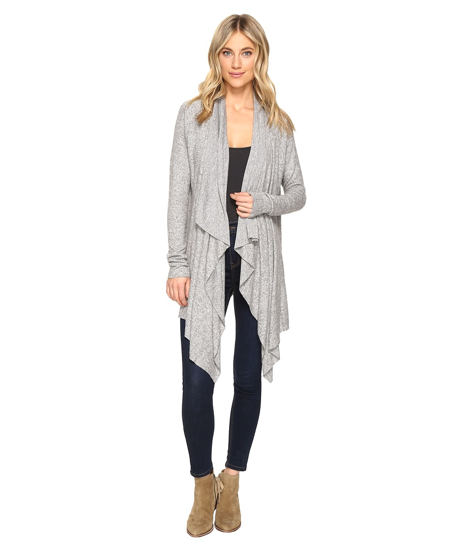 Culture Phit - Mariam Cardigan Sweater (Heather Grey) Women's Sweater