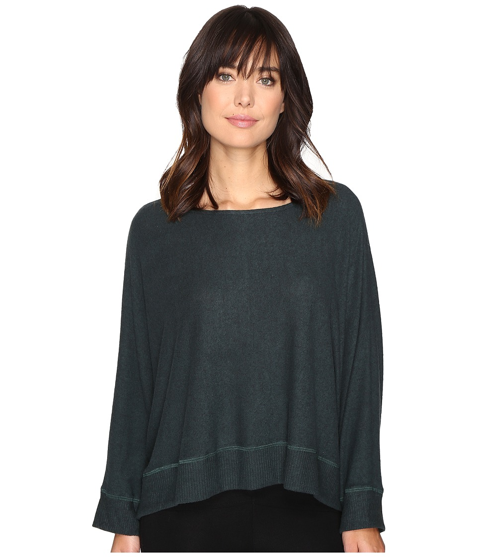 Culture Phit - Niah Boat Neck Dolman Sleeve Sweater (Hunter Green) Women's Sweater