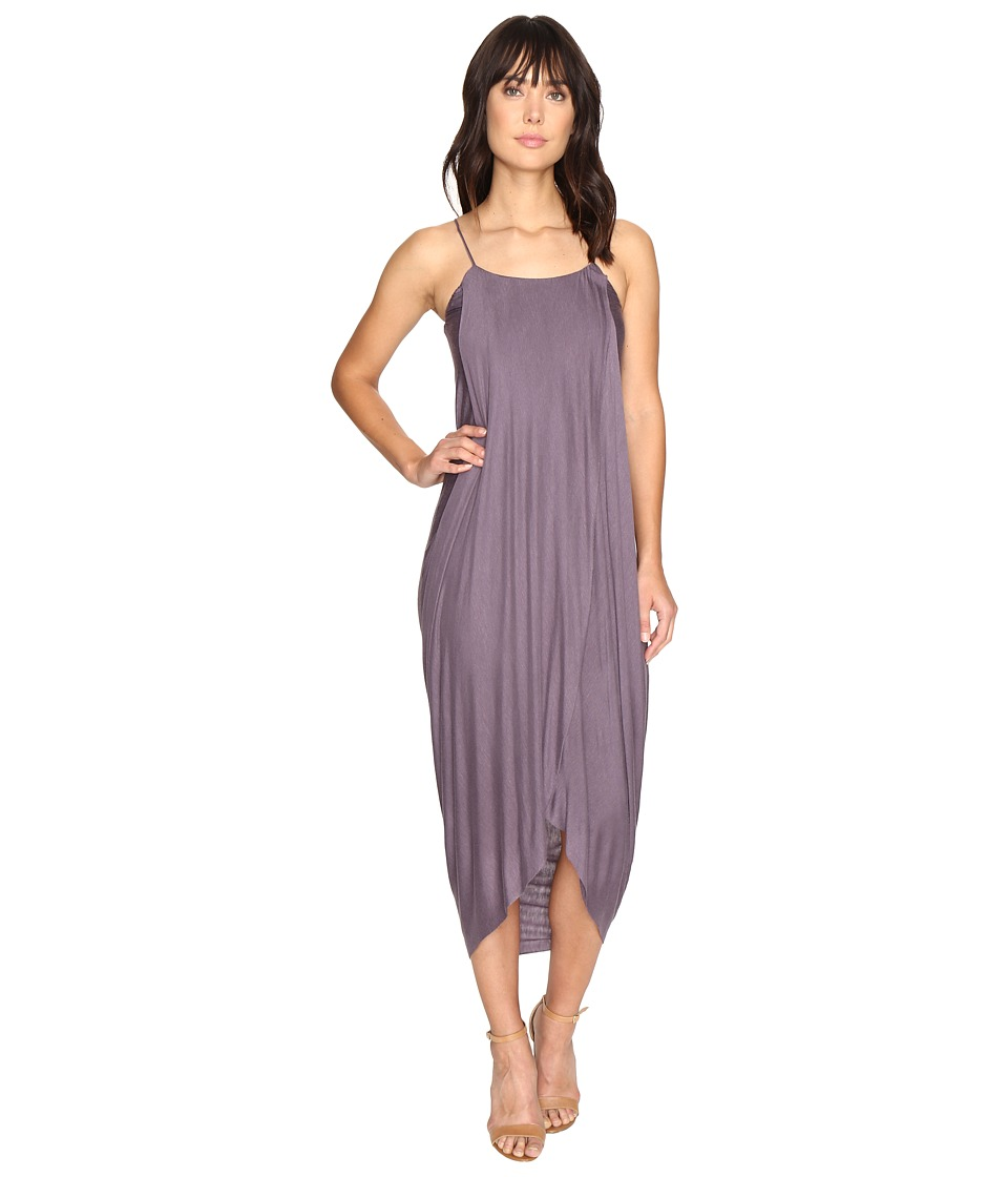 Culture Phit - Daphne Spaghetti Strap Maxi Dress (Purple) Women's Dress