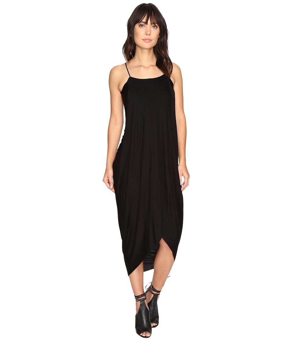 Culture Phit - Daphne Spaghetti Strap Maxi Dress (Black) Women's Dress