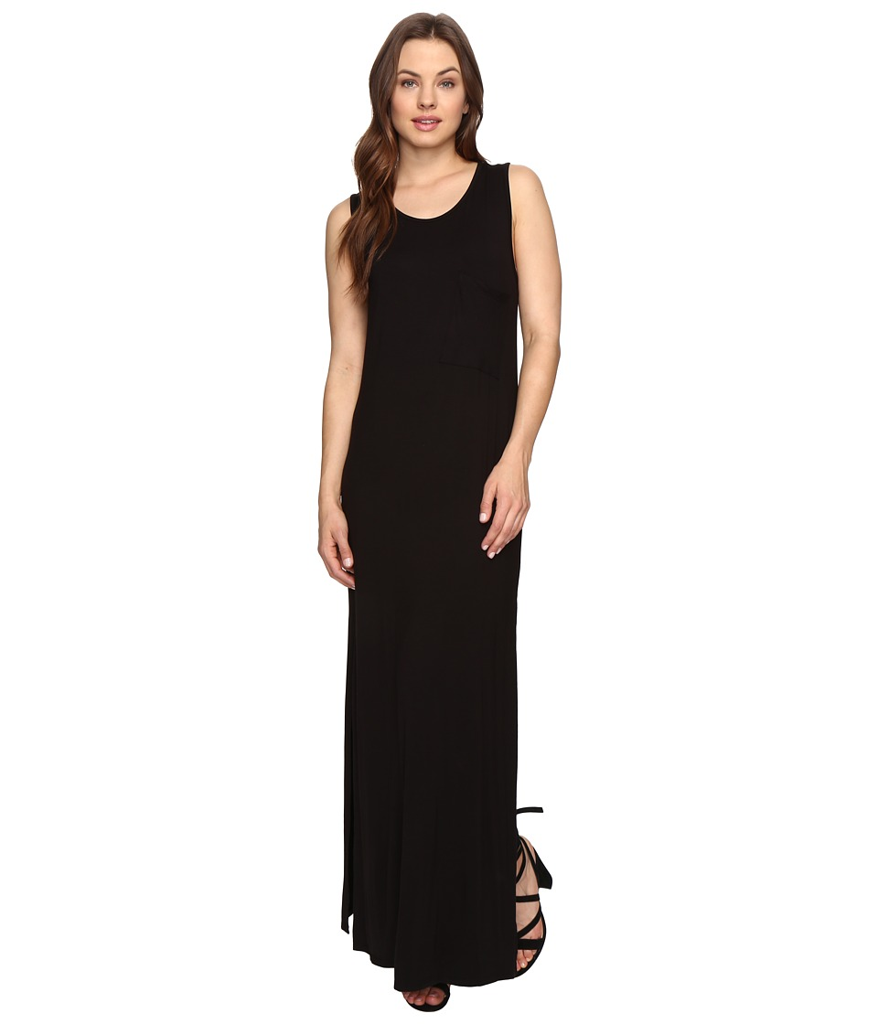 Culture Phit - Hattie Sleeveless Maxi Dress with Pocket (Black) Women's Dress