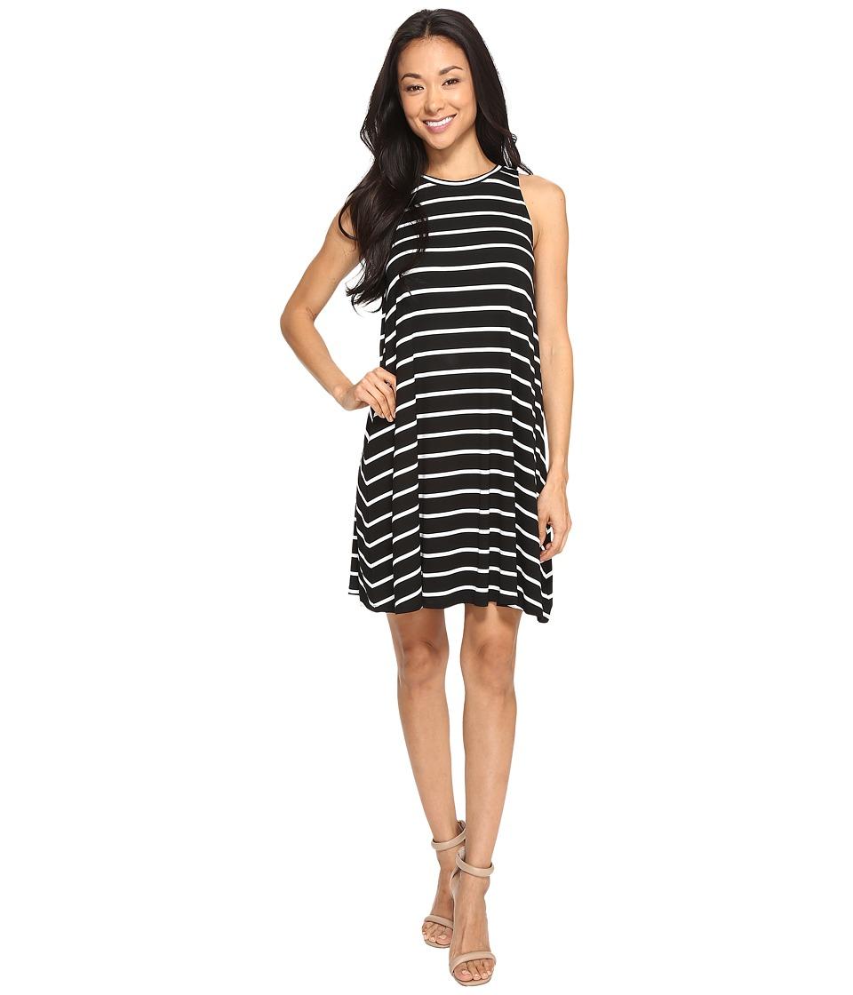 Culture Phit - Toni Sleeveless Dress (Black/Ivory) Women's Dress