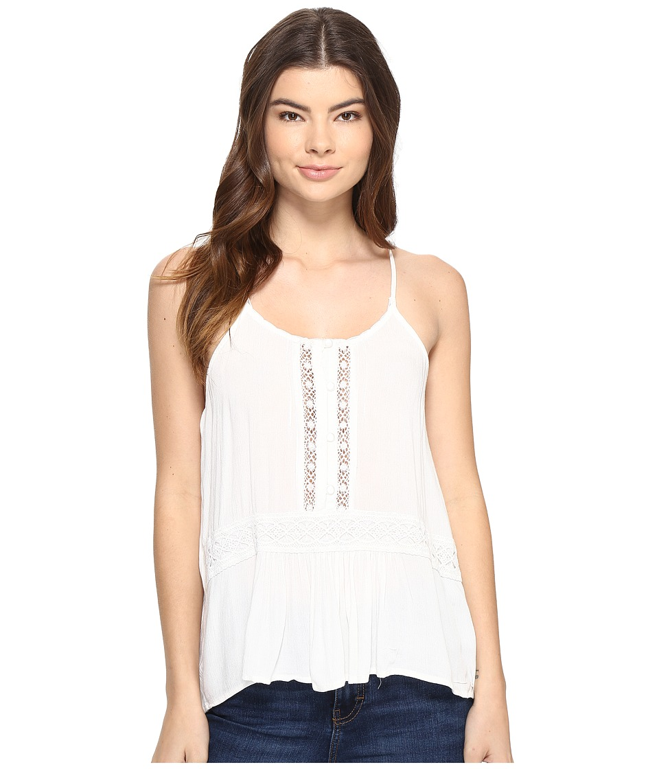Volcom - Summit Stone Cami (Vintage White) Women's Sleeveless