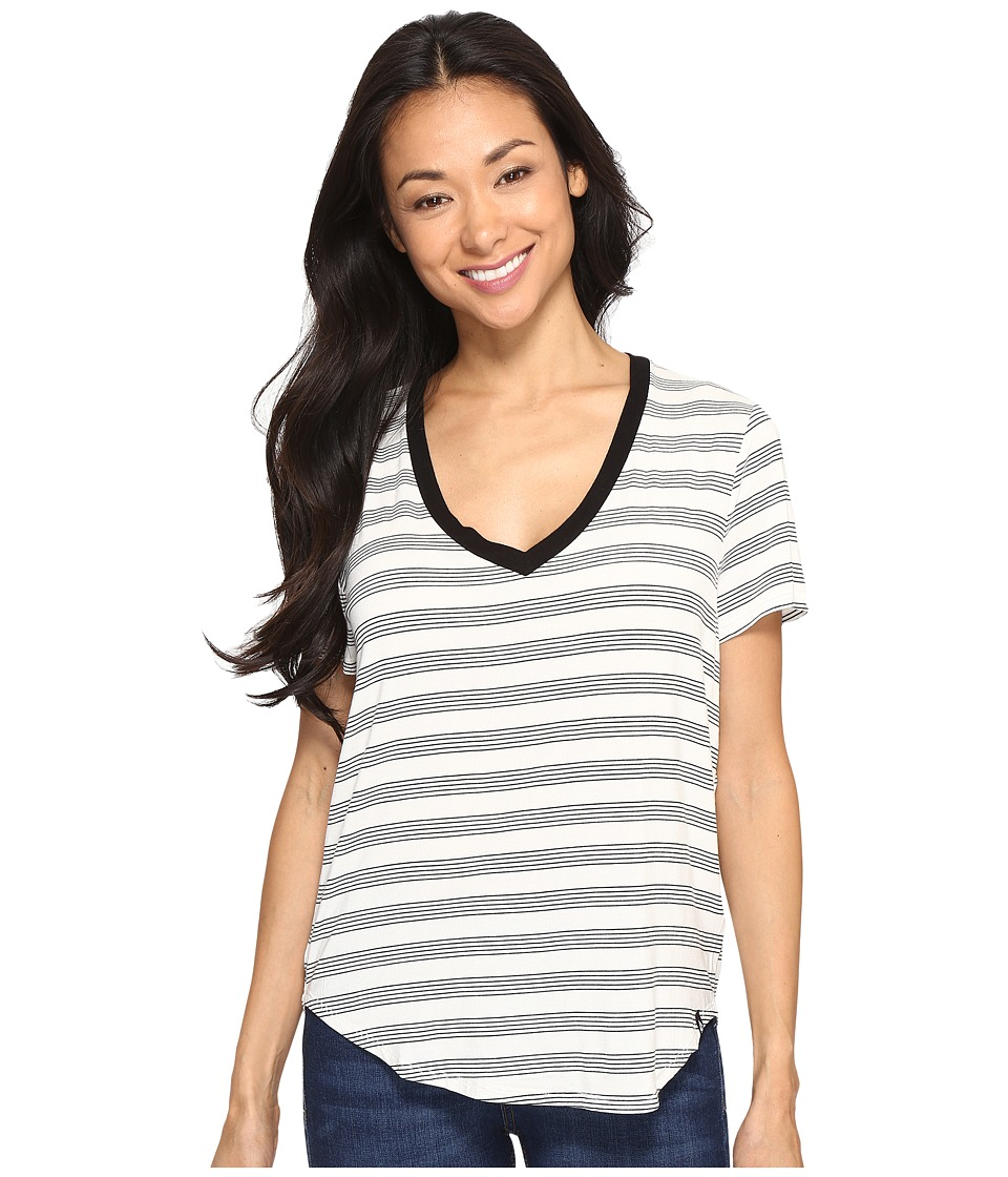 Volcom Lived in Tee (Black Combo) Women